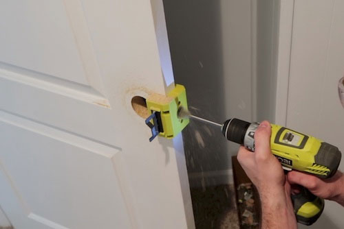 Door Lock Installation