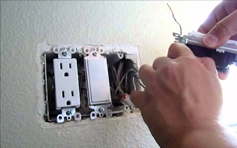 Replacing Light Switch